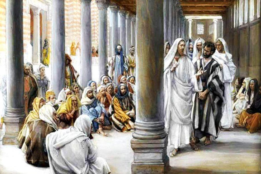 Gli altri dicano quello che hanno voglia, l'unica cosa che a noi deve stare a cuore è di piacere a Gesù