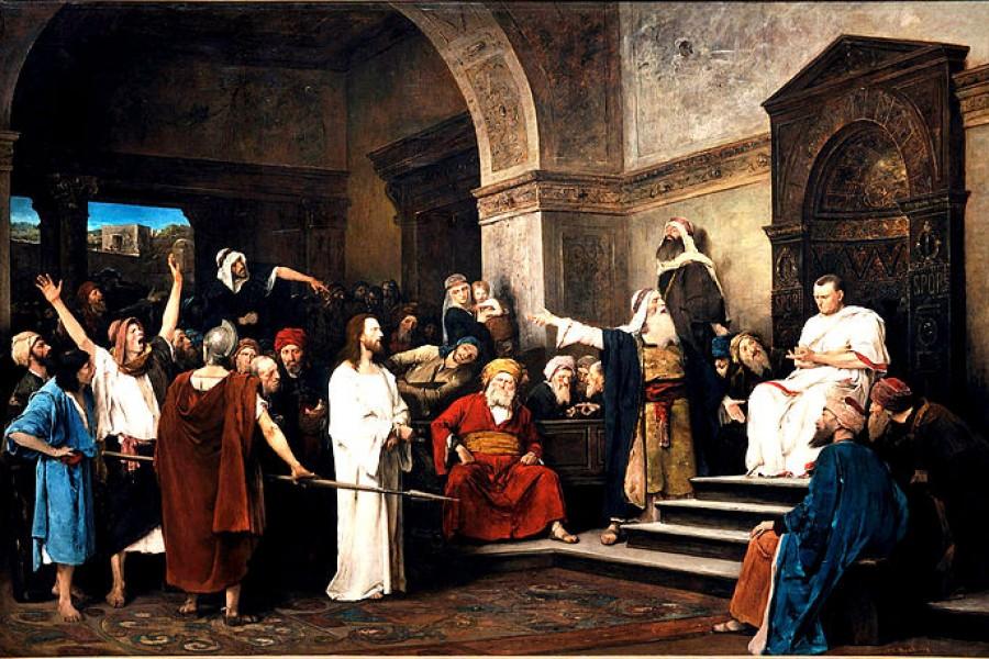 Non imitare Ponzio Pilato