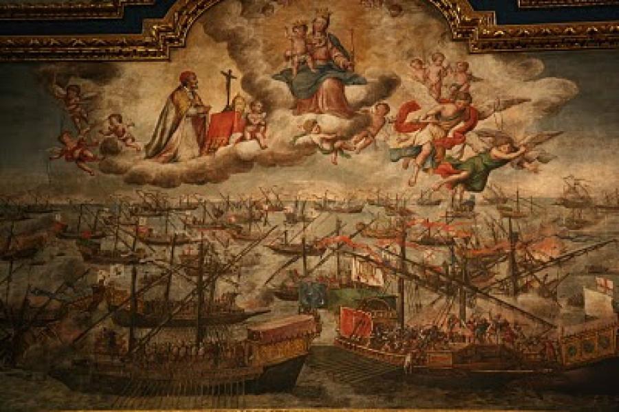 La battaglia di Lepanto e l'origine della memoria della Beata Vergine Maria del Rosario