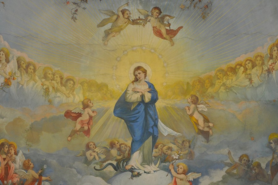 L'Immacolata Concezione di Maria Santissima