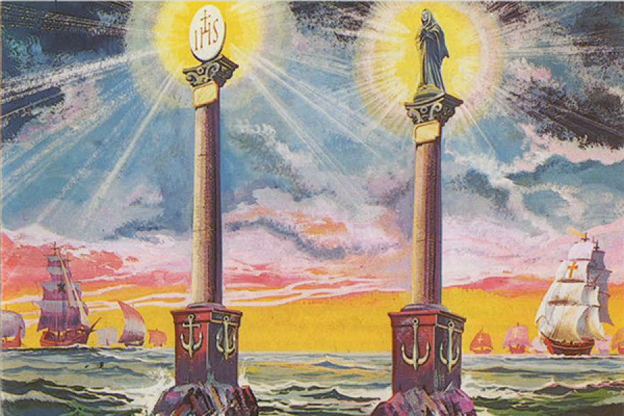 Il Sogno delle due Colonne di S. Giovanni Bosco