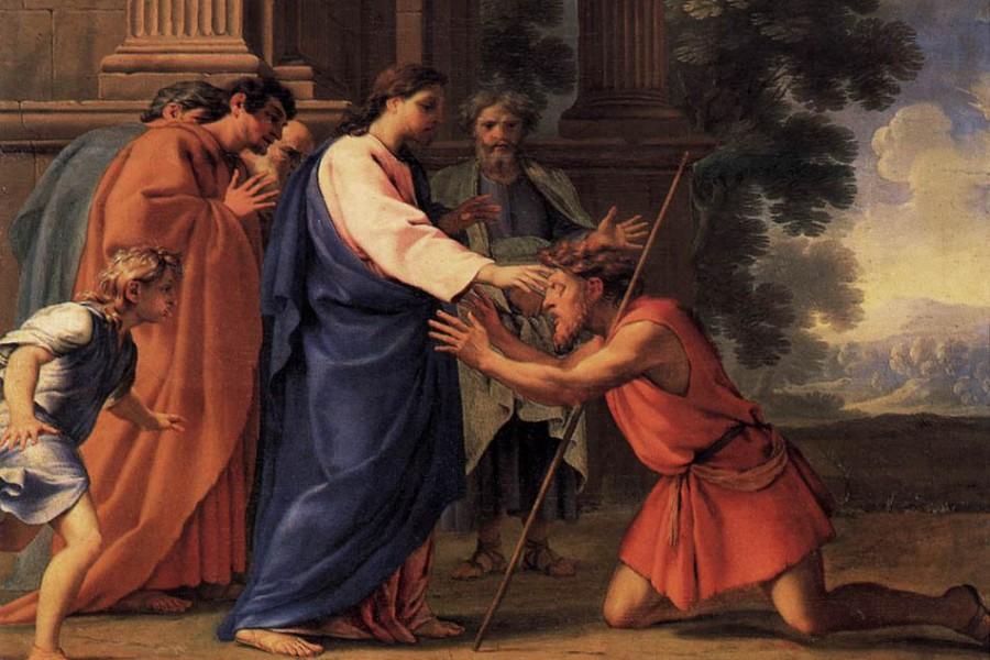 Genuflettersi davanti a Gesù