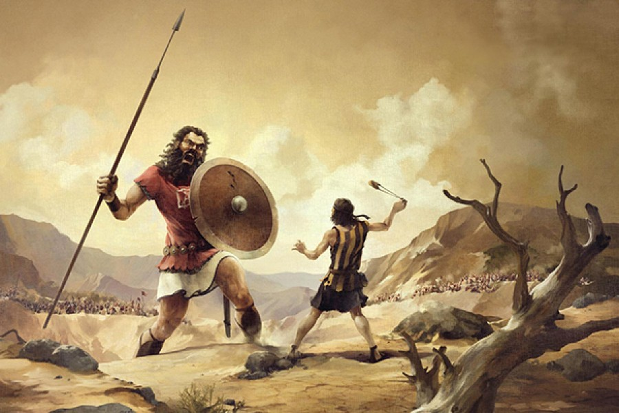 I cinque ciottoli del Re Davide