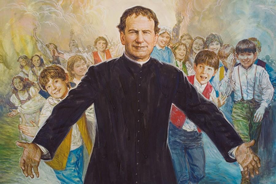 Dai sogni di S. Giovanni Bosco: Un misterioso convito