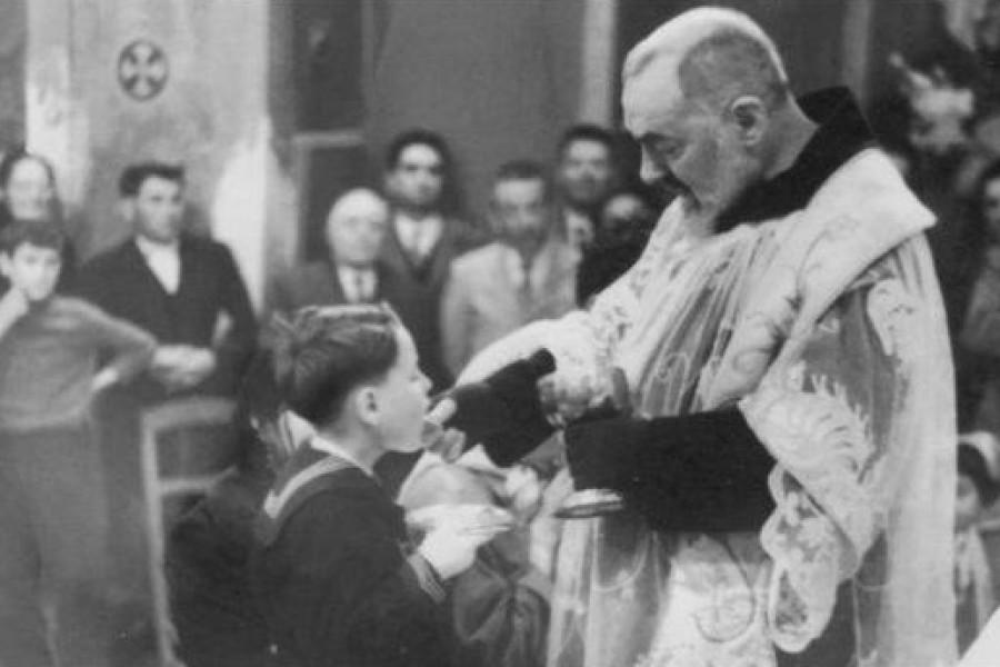 Le omelie del S. Curato d'Ars: la santa Comunione