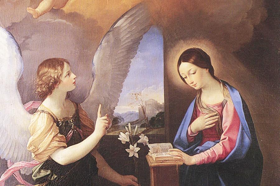 """Il """"sì"""" della Vergine Maria e il """"no"""" di Eva, due libere scelte"""