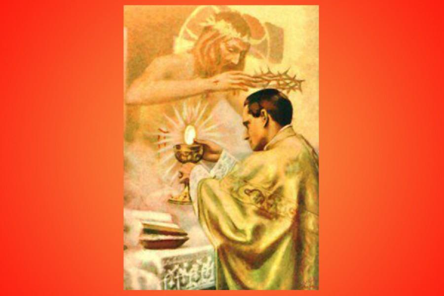 Il Sacerdote: vittima pura