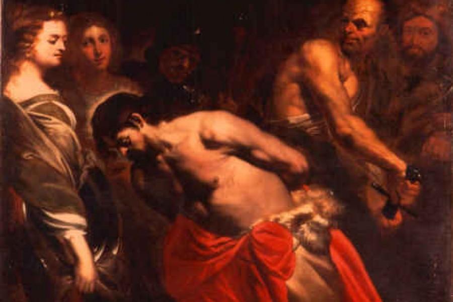 Martirio di S. Giovanni Battista