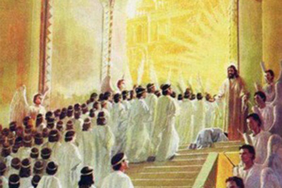 """""""Sono quelli che vengono dalla grande tribolazione e che hanno lavato le loro vesti, rendendole candide nel sangue dell'Agnello"""" (Ap 7,14)"""