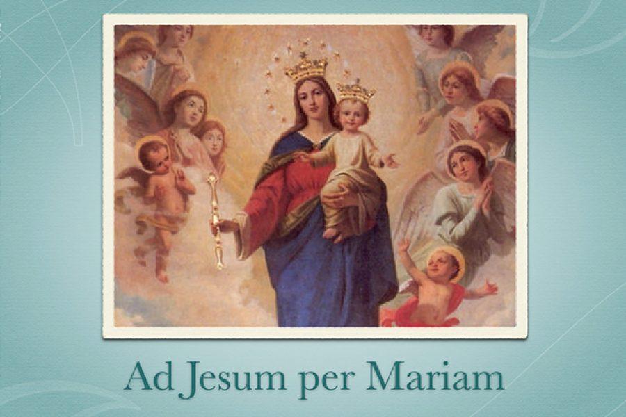 Vigilare, con l'aiuto di Maria Santissima che ci porta a Suo Figlio Gesù