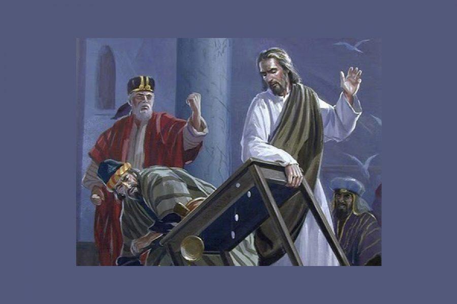 """""""Avete fatto della casa di Dio un covo di ladri"""""""