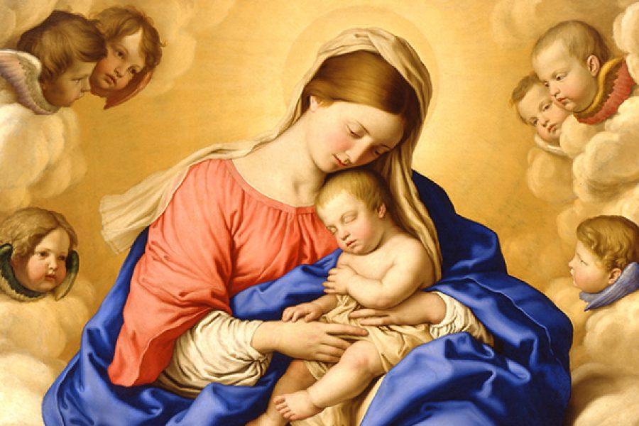 Ringraziamo Dio per i suoi doni, in particolare per averci dato come Madre la Vergine Maria