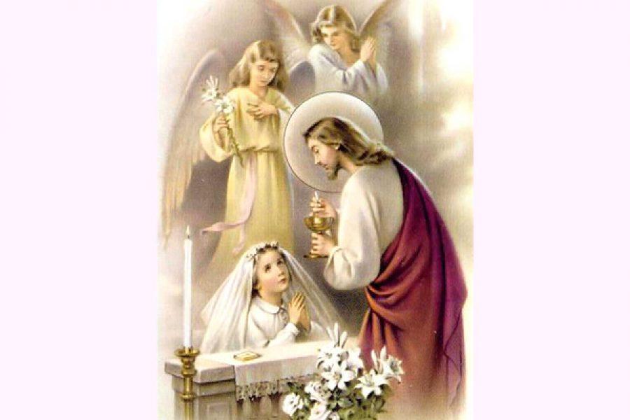 L'unico vero santo pellegrinaggio è la coda per fare la Comunione