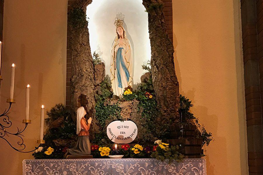 Foto e Video della celebrazione nella Memoria della Beata Vergine Maria di Lourdes