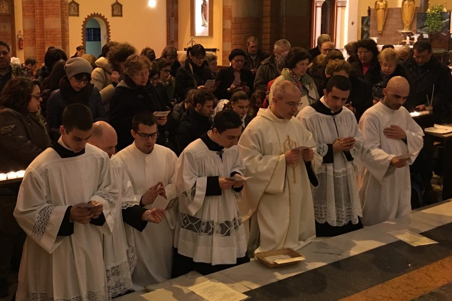 28 febbraio 2017 - Festa del Santo Volto di Gesù a Monza