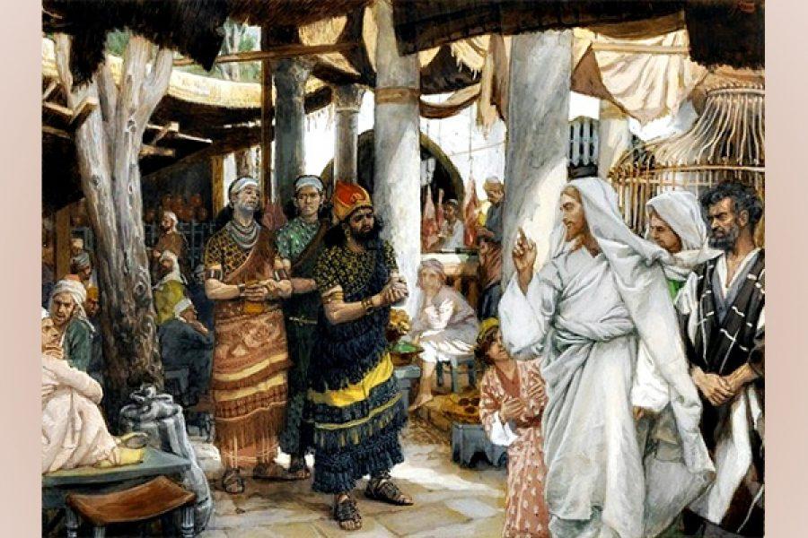 Il fondamento è Gesù: taci e credi