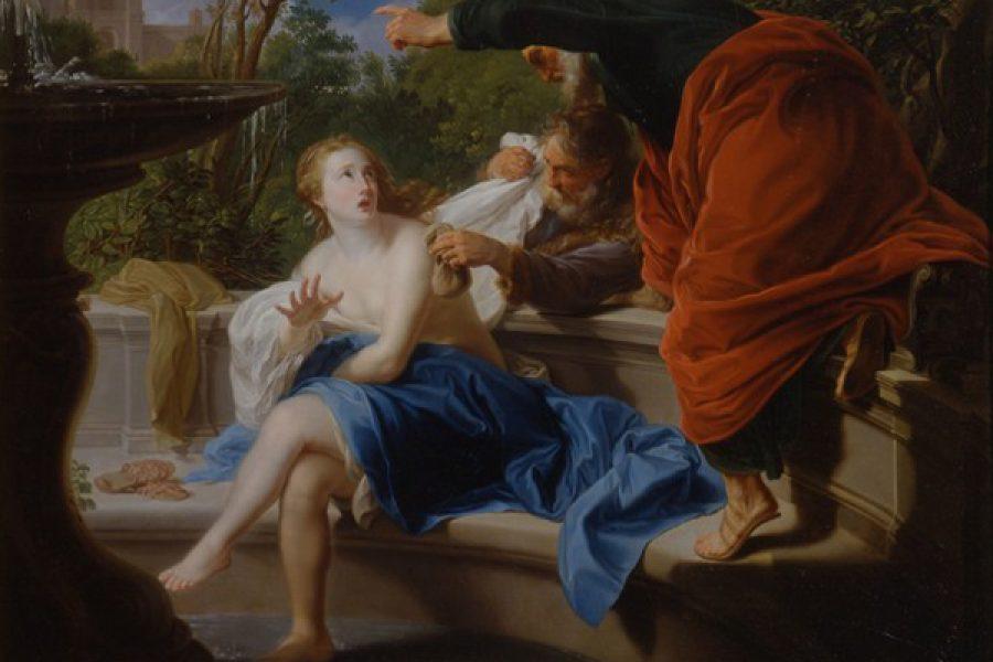 Meglio cadere innocente nelle mani degli uomini che peccare davanti al Signore