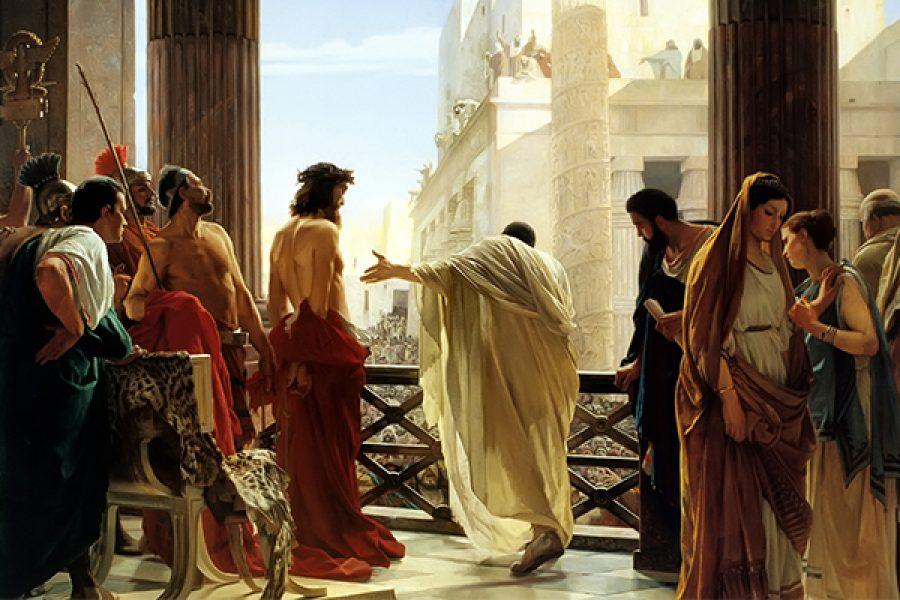 L'accecamento dei farisei e la condanna di Gesù