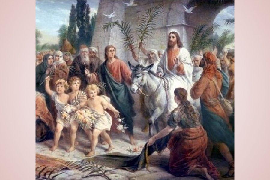 Per portare Cristo è sufficiente lasciarsi domare