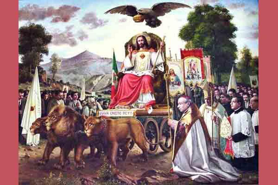 Morire insieme sotto la stessa bandiera: viva Cristo Re!