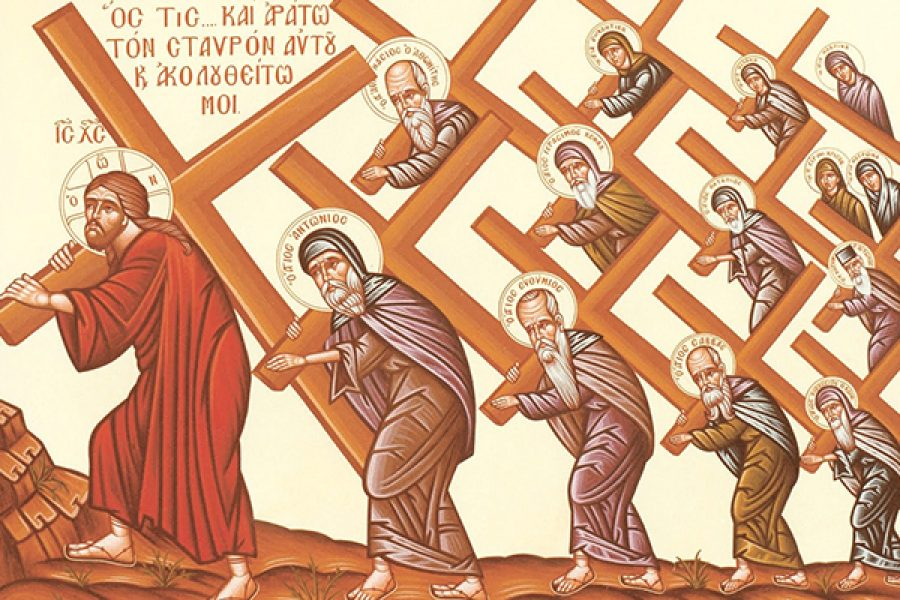 """""""Rinneghi se stesso, prenda la sua croce e mi segua"""" (Mt 16, 24)"""