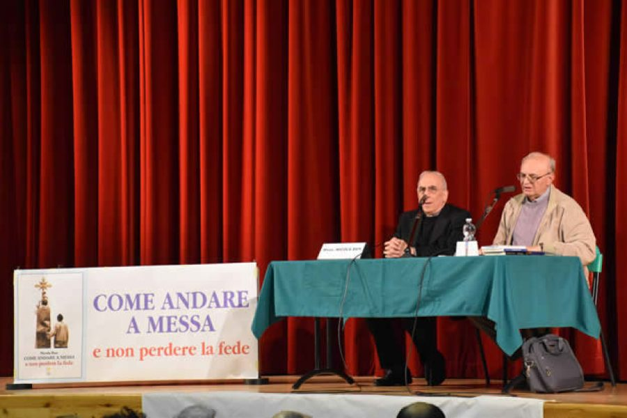 """Conferenza di Mons. Bux: """"Come andare a Messa e non perdere la Fede"""""""