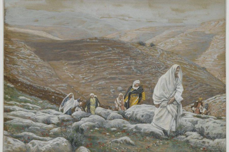 La determinazione di andare verso Gerusalemme