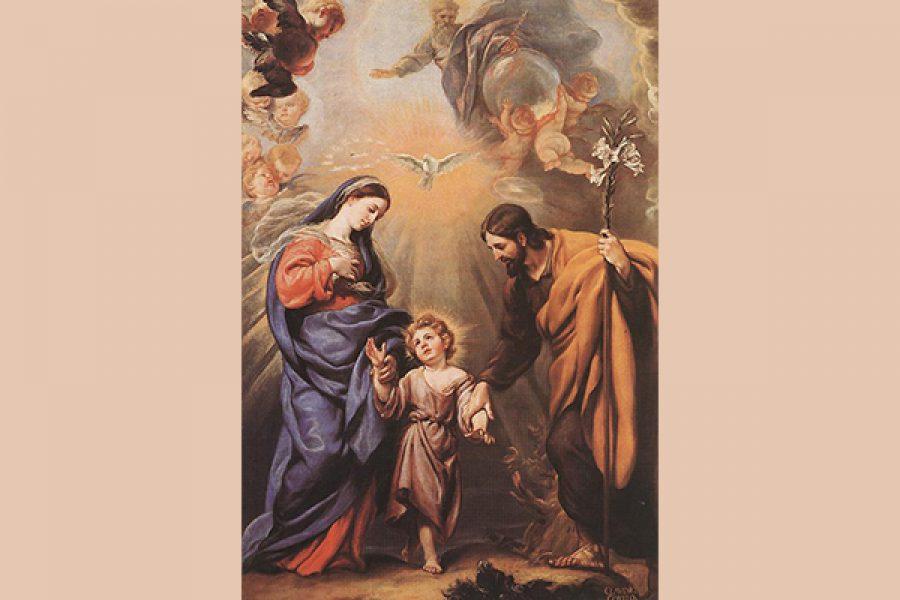 Mettere al centro Gesù: la Sacra Famiglia