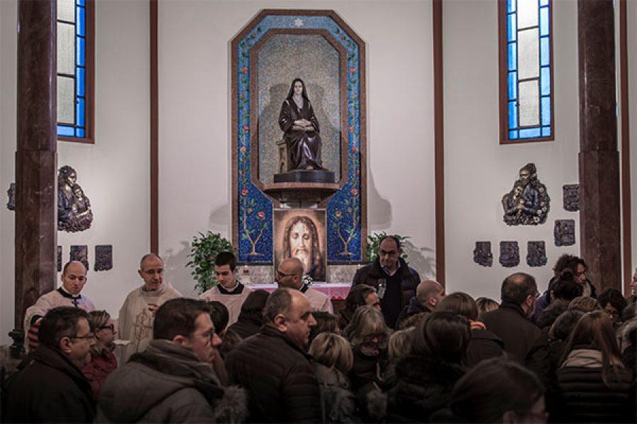 13 febbraio 2018 - Foto e video della Festa del Santo Volto di Gesù a Monza