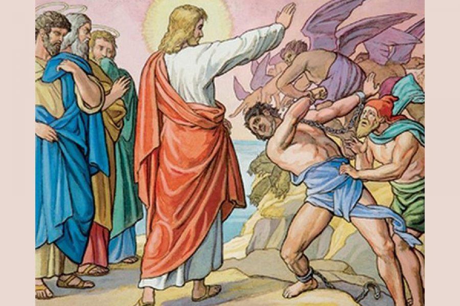 Gesù libera dal demonio impuro