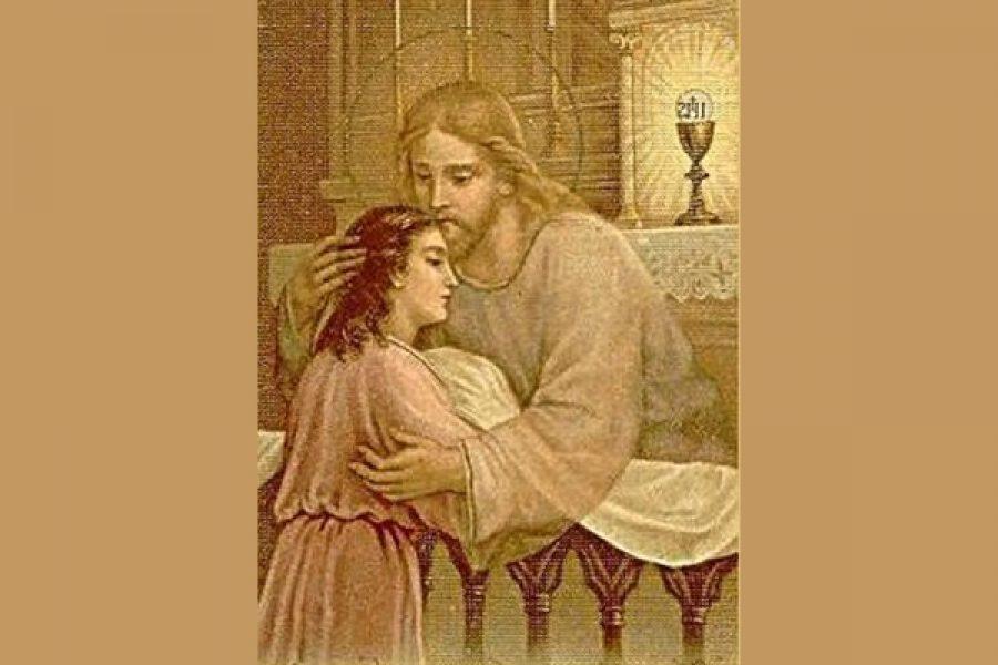 La Comunione spirituale - Chi viene a me non avrà fame e chi crede in me non avrà sete, mai!