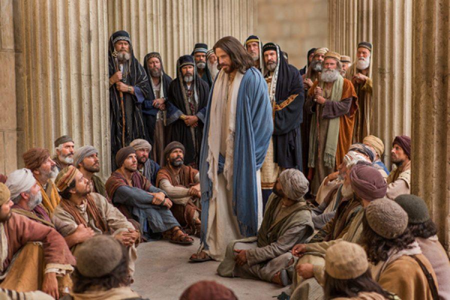 """""""Se la vostra giustizia non supererà quella degli scribi e dei farisei, non entrerete nel regno dei cieli."""""""