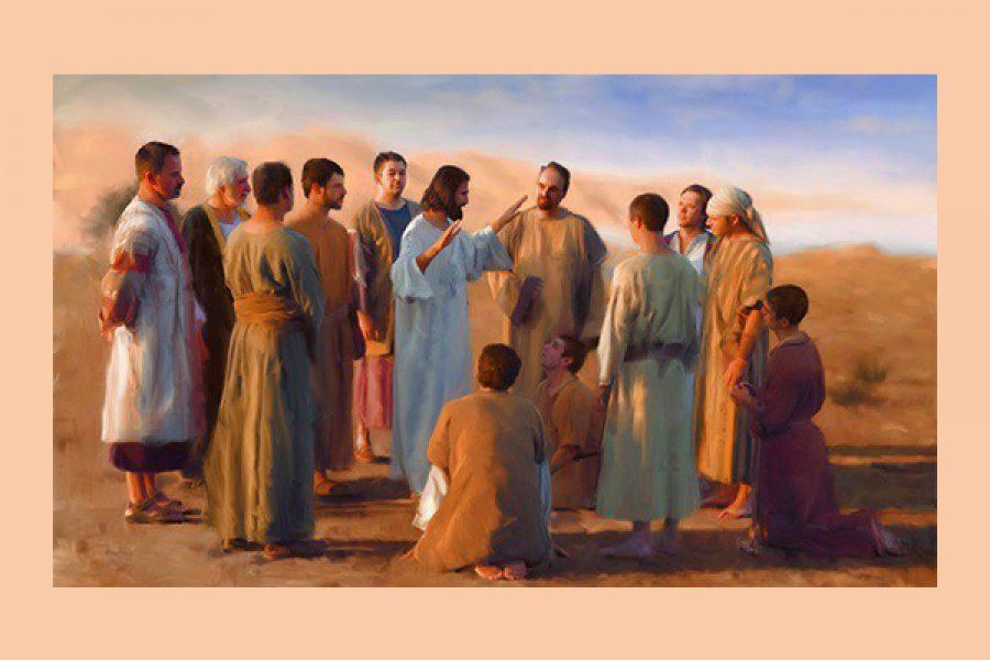 """""""Ordinò loro di non prendere per il viaggio nient'altro che un bastone"""" - L'unica priorità di un apostolo è la Gloria di Dio"""