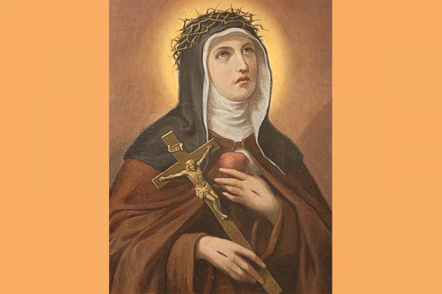 """S.Veronica Giuliani: """"chi ama Gesù e non ama soffrire con Lui o è ingannato o è bugiardo"""" - La grandezza della sofferenza vicaria"""