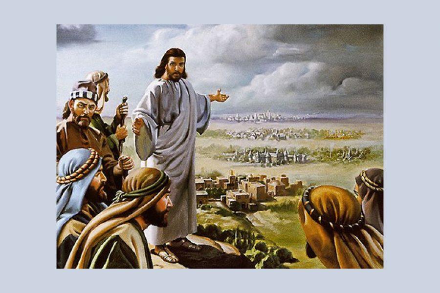 """""""Nel giorno del giudizio, Tiro e Sidòne saranno trattate meno duramente di voi."""""""