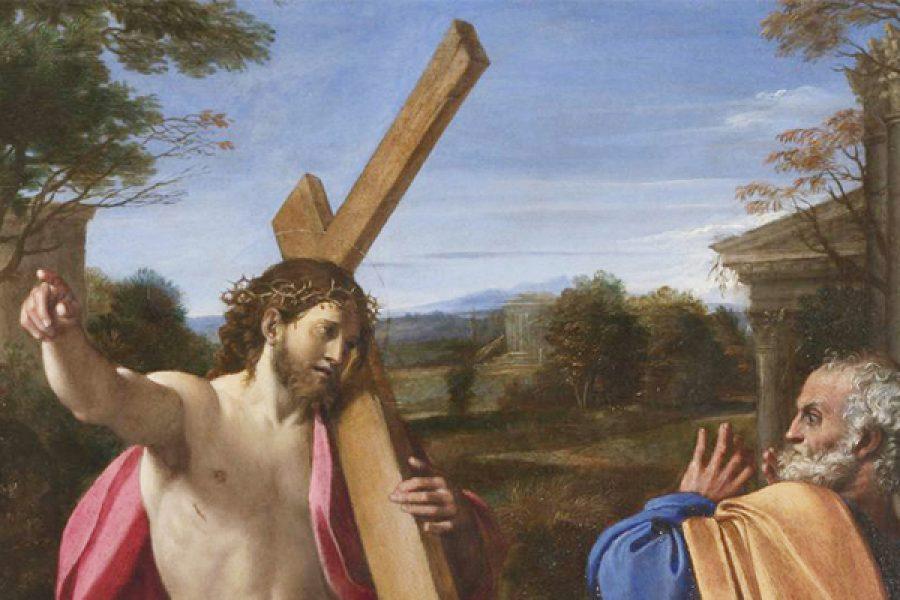 La Croce: il rinnegamento del pensare secondo gli uomini