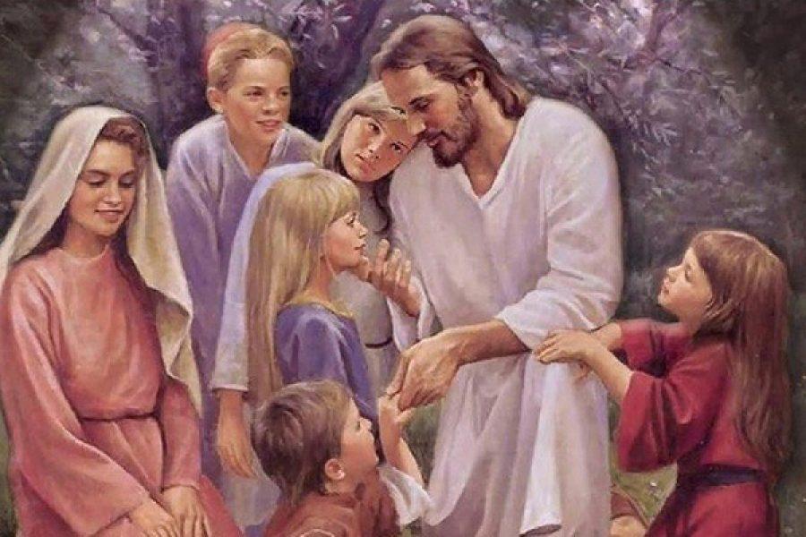 """""""Chi non accoglie il regno di Dio come lo accoglie un bambino, non entrerà in esso"""""""