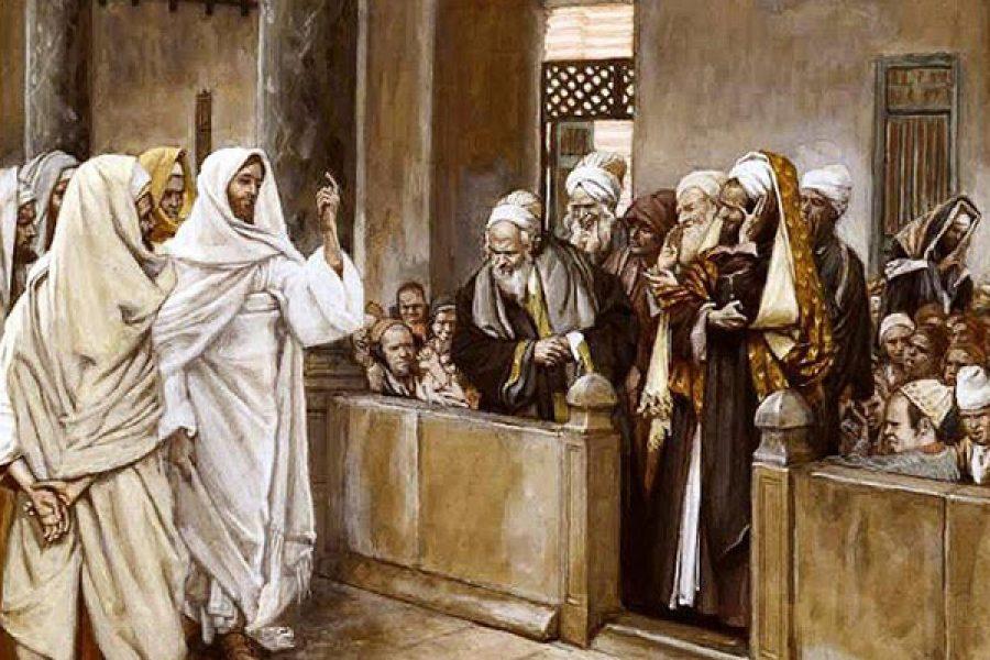 """""""Guai a voi, farisei; guai a voi dottori della Legge"""""""