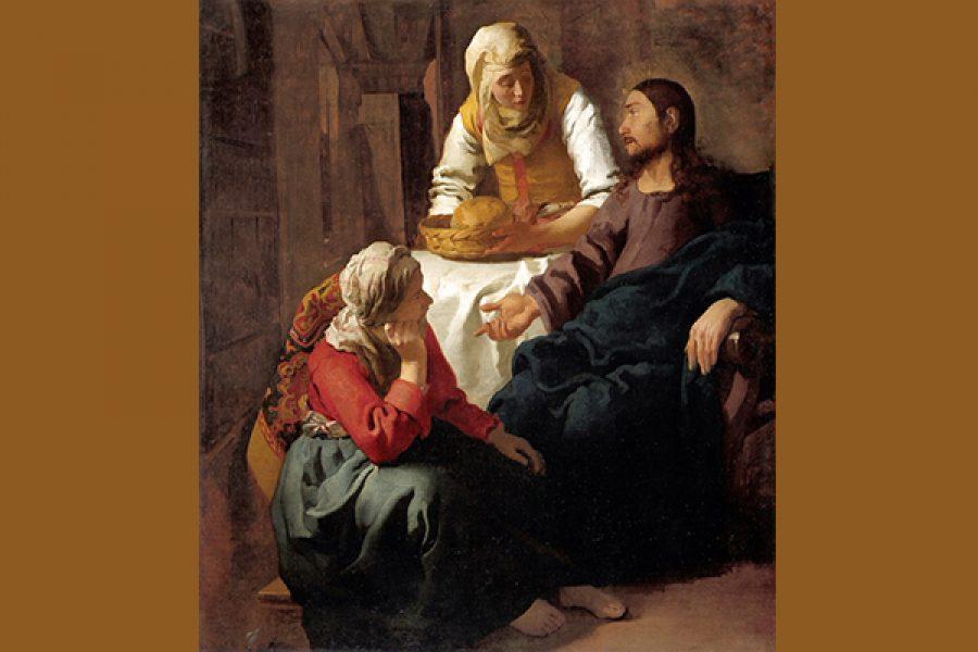 Non c'è carità senza giustizia - Marta e Maria