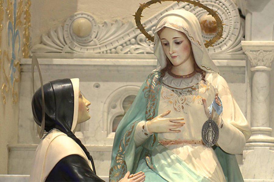 """Novena in preparazione alla ricorrenza dell'apparizione della Madonna """"della Medaglia Miracolosa"""" - da iniziarsi il 18 novembre 2018"""