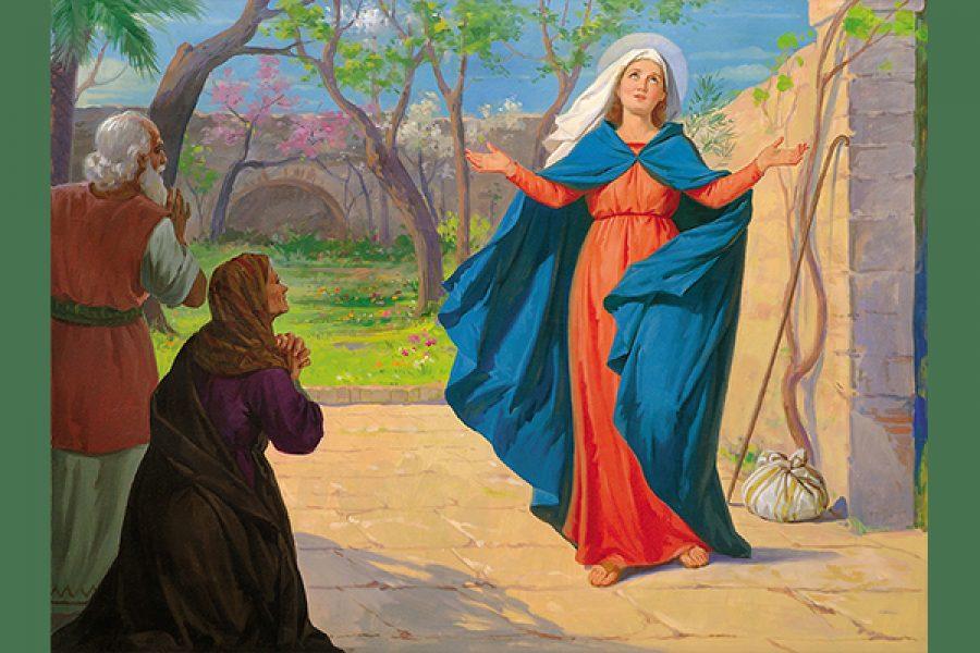 L'amore di Dio per il mio limite diventi la ragione del mio Magnificat
