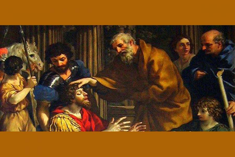La conversione di S. Paolo e la necessaria mediazione di Anania