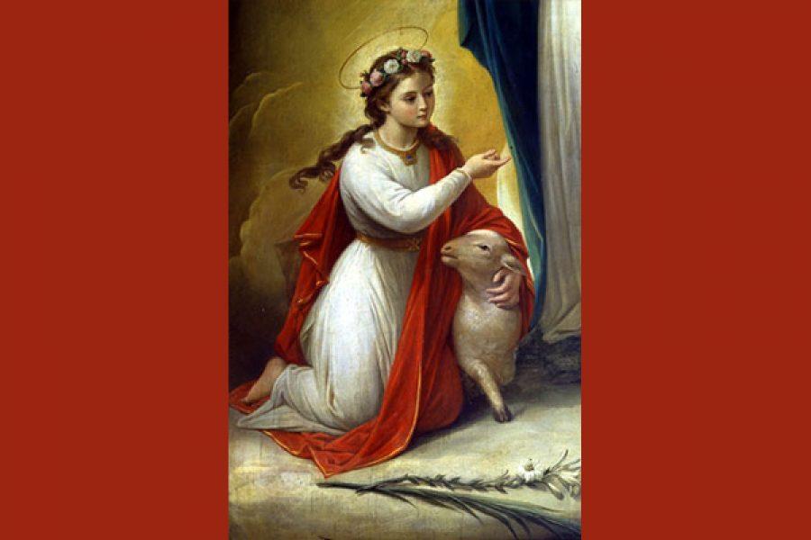 S. Agnese: verginità e fede fino al martirio