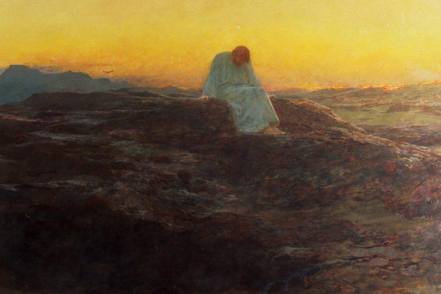 Gola, presunzione e orgoglio: le tre tentazioni di Gesù nel deserto