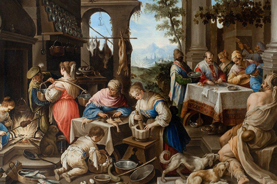 La durezza di cuore: il ricco Epulone immagine del fariseo