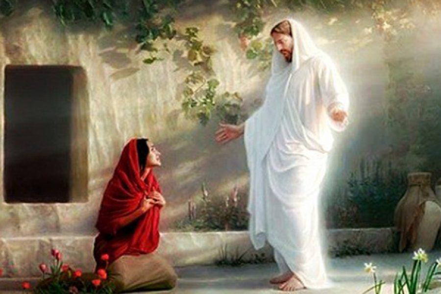 """""""Maria!"""": l'annuncio di Gesù nasce dall'incontro personale con Lui"""
