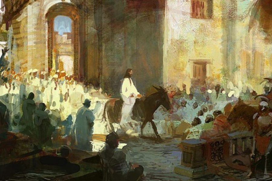 Domenica delle Palme - Fare nostro il Sangue di Gesù affinché non sia sparso invano