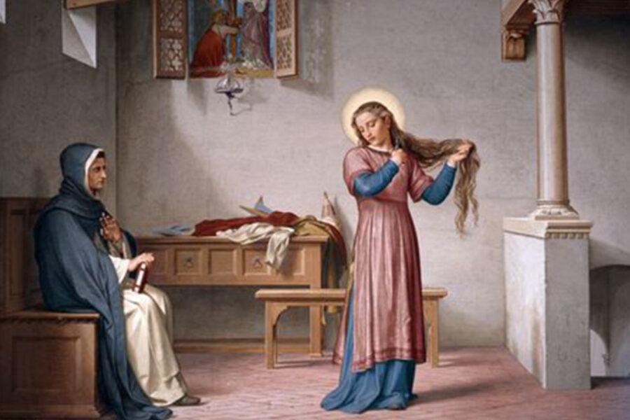 S.Caterina da Siena - La tentazione dell'impurità, la purezza, il libero arbitrio