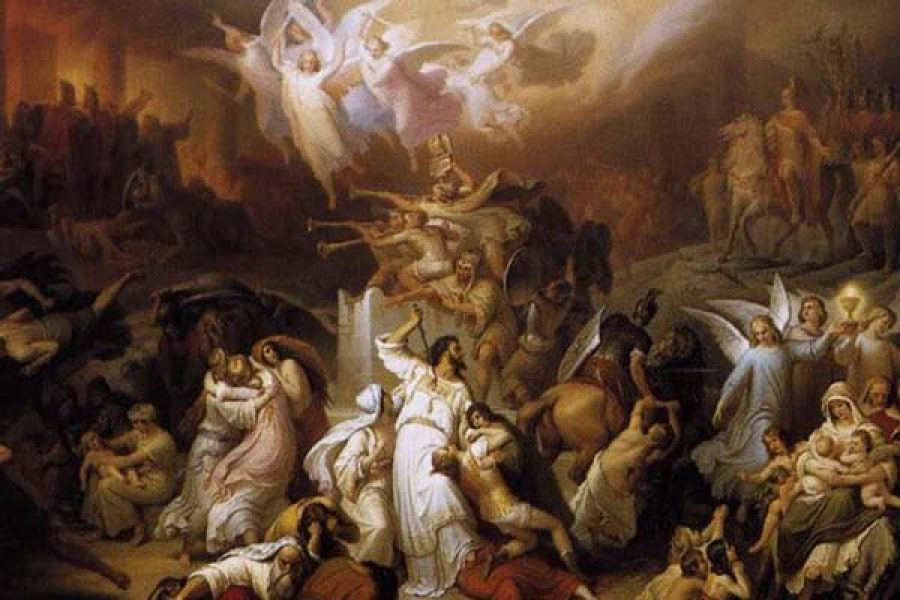 S.Maria Maddalena de Pazzi e la visione del Purgatorio