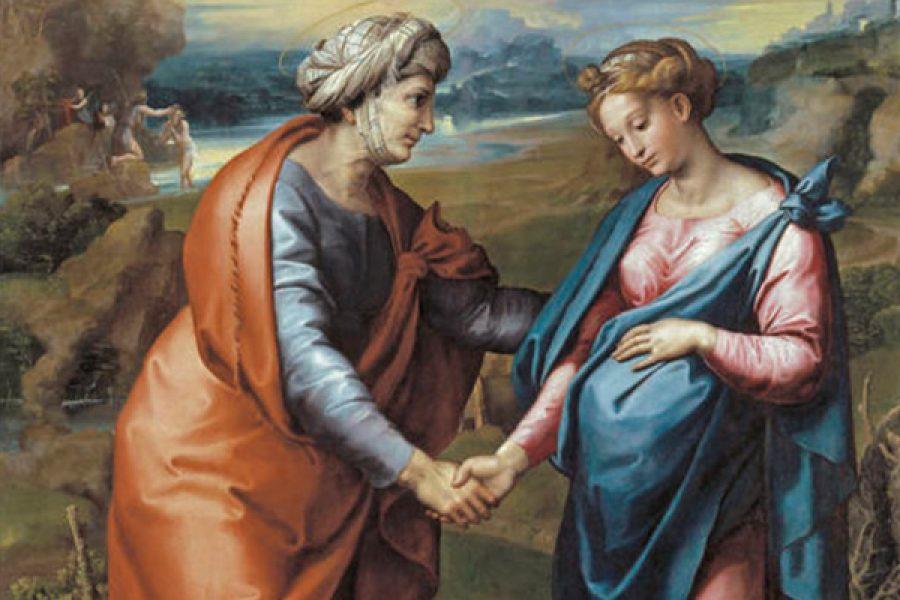 La visitazione: lo slancio vigoroso di Maria